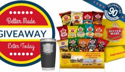 Better Made Snacks & Yeti Giveaway 9/25