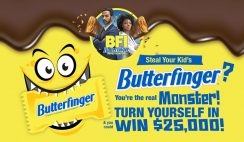 Butterfinger Win $25K Cash - ends 11/6
