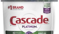 Amazon Deal: 11% off Cascade Dishwasher Pods!