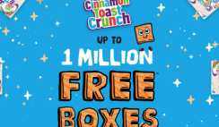 FREE Box Cinnamon Toast Crunch (Rebate)