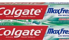 Amazon Deal: 43% off Colgate Toothpaste - 4 pack!