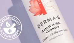 FREE Sample of Derma E Anti-Wrinkle Cleanser (FIRST 3,000!)