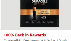 FREE Duracell Batteries at Office Depot - ends 10/24