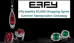 Effy Jewelry $5,000 Giveaway ends 9/7