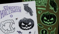 Free Halloween Glow Tattoos! 10,000