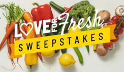 Love For Fresh $240+ Giveaway ends 9/30