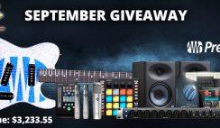 Presonus Music Recording Giveaway 9/30