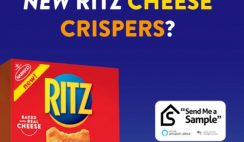 Free Ritz Cheese Crispers 10,000 Available