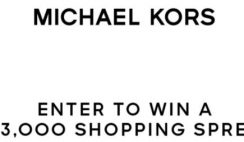 Win a Michael Kors Shopping Spree: 10/11