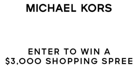 Michael Kors Shopping Spree