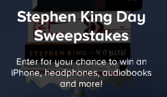 Stephen King $1,600+ Giveaway - ends 9/30