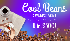 Cool Beans $500 Visa Giveaway ends 10/25