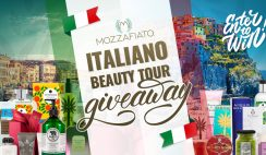 Mozzafiato Beauty Tour Giveaway ends 1/31