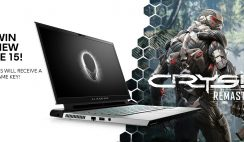 Alienware Laptop & Crysis Giveaway - 10/18
