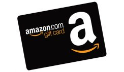 Amazon $200+ Gift Card Giveaway ends 10/30