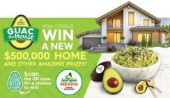 Guac The House $500K Giveaway ends 12/27