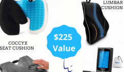Ultimate Back Pain Giveaway ends 10/21