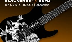 Blackened S&M2 Guitar Giveaway ends 11/8