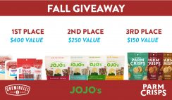 Creminelli Fall Foodie Giveaway ends 10/1