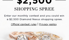 Diamond Nexus $2,500 Giveaway ends 10/31