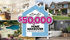 Ultimate $50K Home Makeover Giveaway 10/17