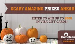 Hometeam $500 Visa GC Giveaway ends 10/31