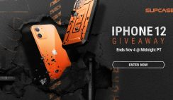 Supcase iPhone 12 Giveaway ends 11/4