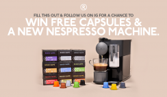 Nespresso Coffee Machine Giveaway - 10/30