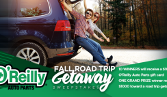 O'Reilly's Auto Parts $1k Giveaway - 10/4