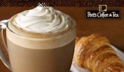 FREE Peet's Coffee & Tea Beverage