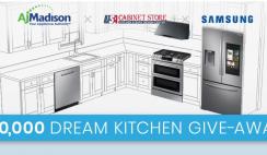 Samsung $10K Dream Kitchen Giveaway -12/31
