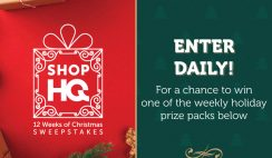 ShopHQ 12 Wks of Xmas Giveaway ends 12/23