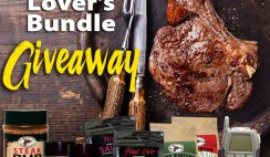 Steak Lover's Bundle Giveaway ends 10/30