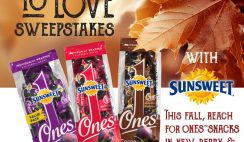 Sunsweet $500 Giveaway ends 10/31