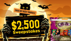Tasty Rewards $2,500 Giveaway ends 10/31
