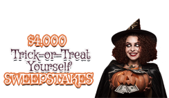 Trick-or-Treat $4,000 Giveaway ends 10/26