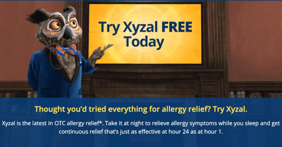 FREE Xyzal Allergy 24HR