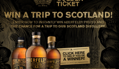 Win a $8K Trip to Scotland from Aberfeldy & 2,000 Instant Win Prizes - ends 12/31
