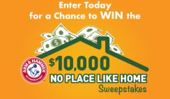 Win $10K Cash From Arm & Hammer - Enter Daily - ends 11/30