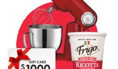 Win a Year of Frigo Cheese, $1,000 Gift Card, Cuisinart Stand Mixer and More + 512 Instant Winners - Enter Daily - ends 12/31