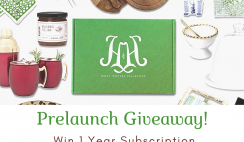 Happy Hostess Collective Giveaway ends 11/16