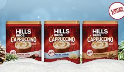 Win a Hills Bros Cappuccino Holiday 3-Pack Prize Bundle - Enter Daily - ends 11/23