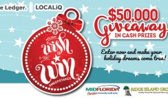 Win 1 of 4 Cash Prizes in The Holiday Wish & Win Giveaway ($50K Total Value) - Enter Daily - ends 12/18