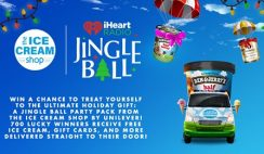 Win 1 of 700 Jingle Ball Party Packs from The Ice Cream Shop - ends 11/30