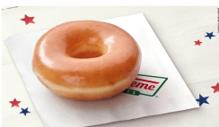 FREE Krispy Kreme Doughnut on Election Day