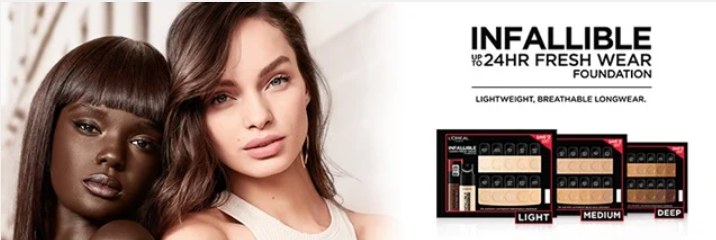 FREE Loreal Infallible Foundation