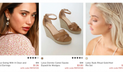 Great Deal: Lulu's Clothes, Shoes, Accessories 90% OFF!! - ends 11/30
