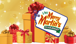 Win 1 of 3 Very Merry Martin's Holiday Prize Packs ($599 Value Each) - Daily Entry - ends 12/23