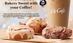 FREE McDonald's Bakery Treat with Coffee Purchase - ends 11/9