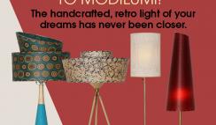 Win a $500 Modilumi Retro Lighting Gift Card - ends 11/13